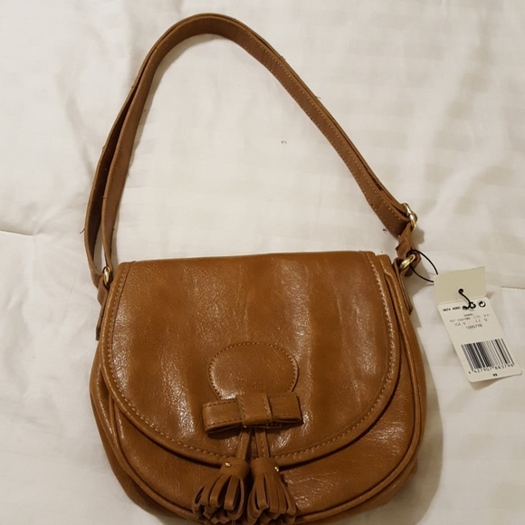 Handbags - MNG tan purse